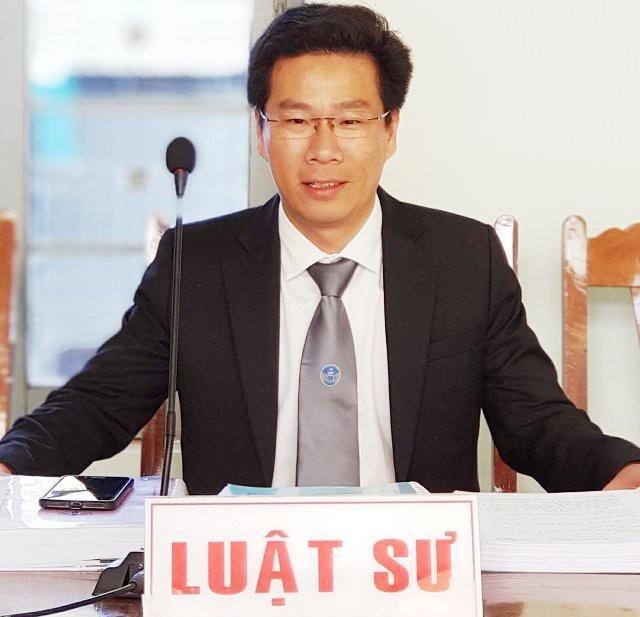 Luật sư Trần Bá Học (Hãng Luật Roma, Đoàn Luật sư TPHCM).