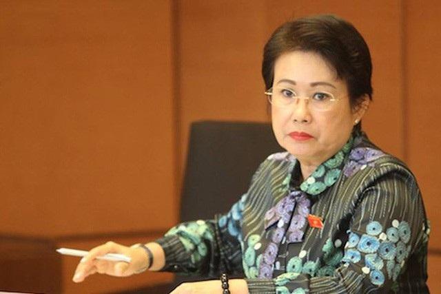 Bà Phan Thị Mỹ Thanh, Phó Bí thư Tỉnh ủy, Trưởng đoàn Đại biểu Quốc hội tỉnh Đồng Nai.