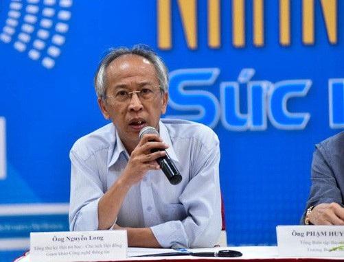 Ông Nguyễn Long - Tổng Thư ký Hội Tin học Việt Nam, Chủ tịch hội đồng khẳng định không phải ai cứ đạt giải thì mới gặt hái được thành công
