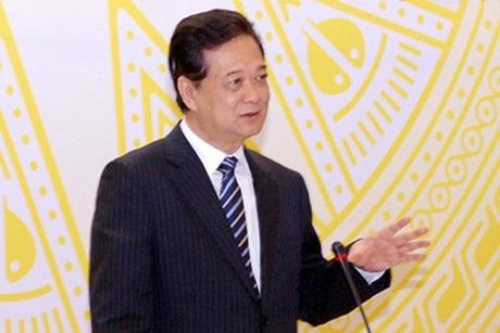 Nguyên Thủ tướng Nguyễn Tấn Dũng từng nói lời xin lỗi người dân tại hội nghị Thủ tướng và doanh nghiệp năm 2014.