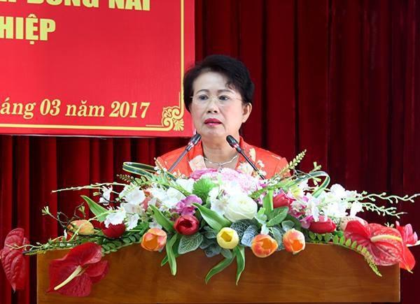 Bà Phan Thị Mỹ Thanh- Phó Bí thư Tỉnh uỷ, Trưởng Đoàn đại biểu Quốc hội tỉnh Đồng Nai.