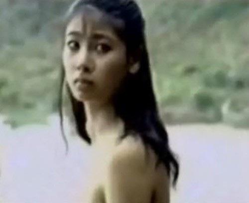 Cảnh của Hà Kiều Anh trong phim Người tình trong mơ. Ảnh: TL.