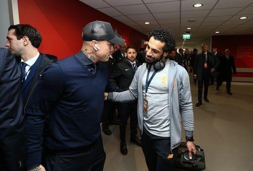 Salah cùng các đồng đội tới Anfield
