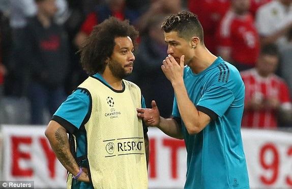 Marcelo và C.Ronaldo là hai cầu thủ được HLV Zidane rất kỳ vọng