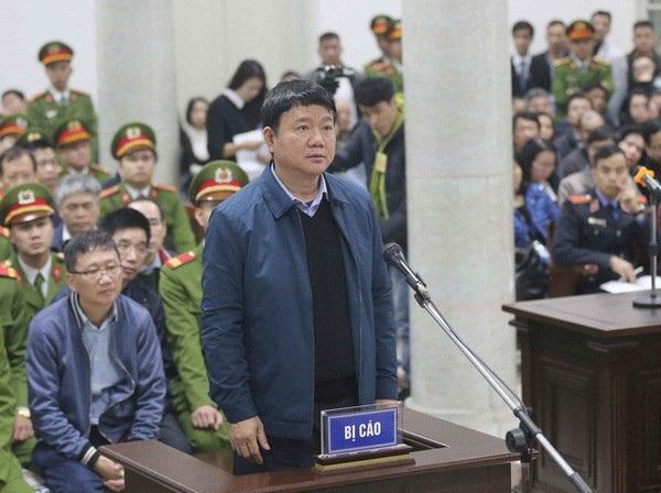 Cựu Chủ tịch HĐTV PVN Đinh La Thăng.