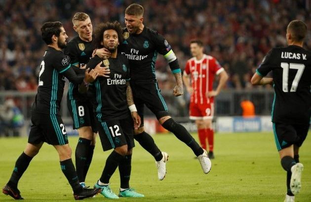 Real Madrid may mắn kiếm được kết quả hòa 1-1 trong hiệp 1