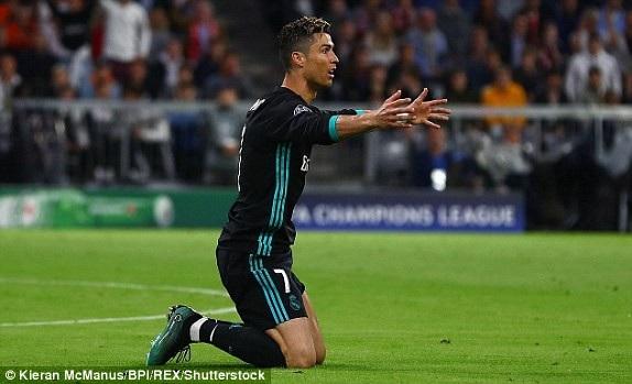 C.Ronaldo chưa thể hiện được nhiều ở 20 phút đầu