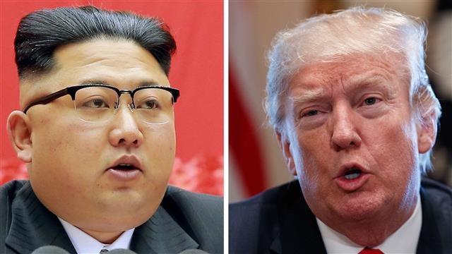 Tổng thống Donald Trump (phải) và nhà lãnh đạo Kim Jong-un (Ảnh: WSJ)