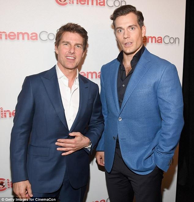Tom Cruise và Henry Cavill
