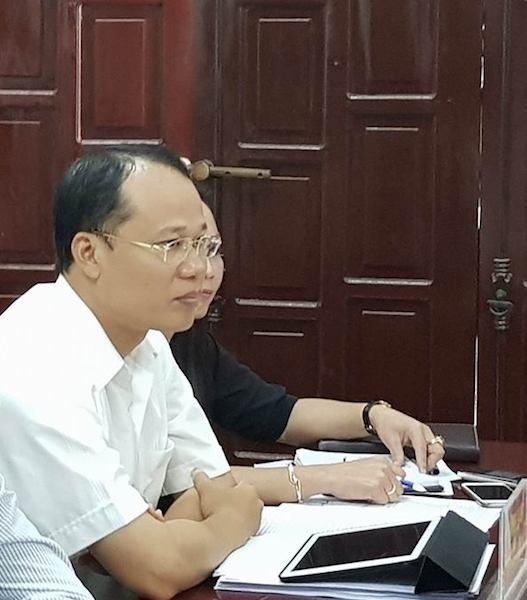 Ông Mai Sơn - Chủ tịch UBND TP Bắc Giang.