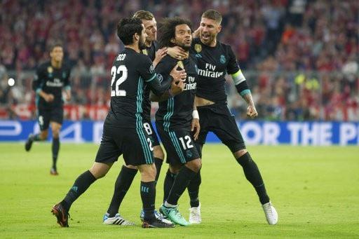 Marcelo ghi bàn thắng gỡ hòa quý giá cho Real Madrid