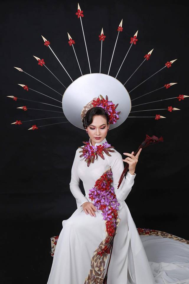 Bộ sưu tập từ hoa tươi của NTK Minh Hùng