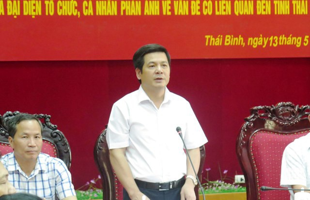Ông Nguyễn Hồng Diên được được bầu làm Bí thư Tỉnh ủy tỉnh Thái Bình