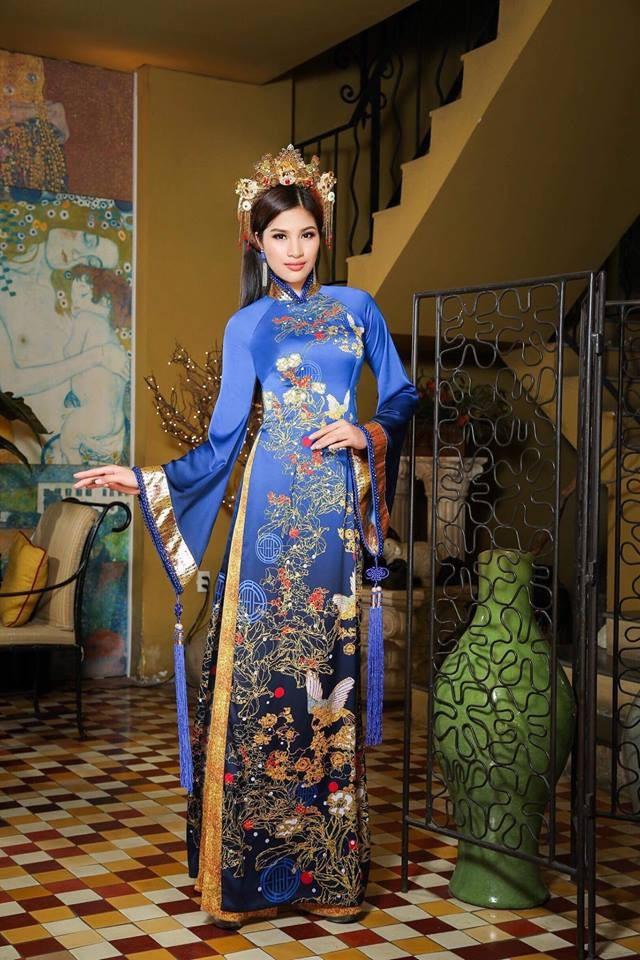 """Đêm diễn """"Huế Vàng Son"""" - nơi thăng hoa áo dài Việt với văn hóa cung đình cố đô - 5"""
