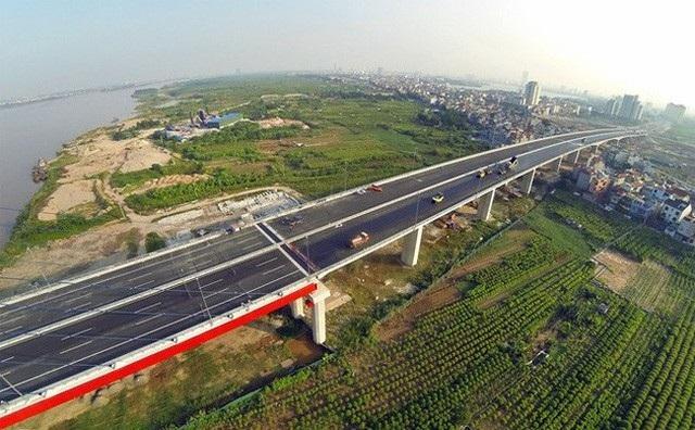 Dự kiến, siêu dự án thành phố thông minh tại phía Bắc Hà Nội (đoạn hai bên tuyến đường Võ Nguyên Giáp) sẽ rộng 271,82 ha.