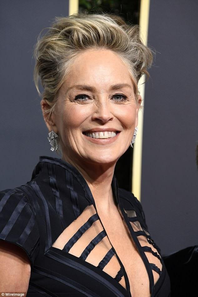 Sharon Stone tiết lộ cô không thích béo, sợ tăng cân nên tập luyện thể dục rất nhiều