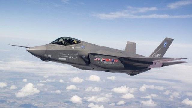 Máy bay chiến đấu F-35 (Ảnh: Quân đội Mỹ)