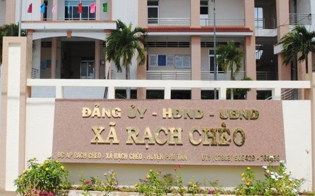 Trụ sở xã Rạch Chèo, huyện Phú Tân, tỉnh Cà Mau. (Ảnh: CTV)