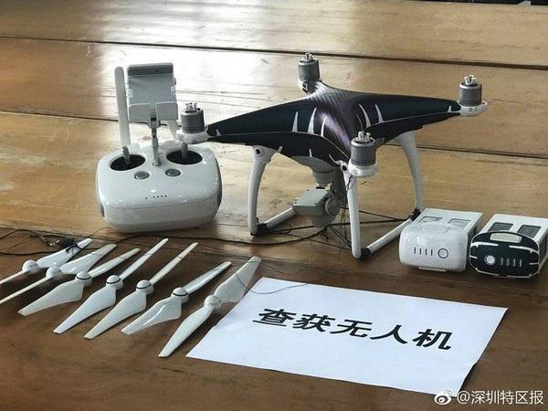 Chiếc máy bay không người lái được sử dụng trong vụ buôn lậu