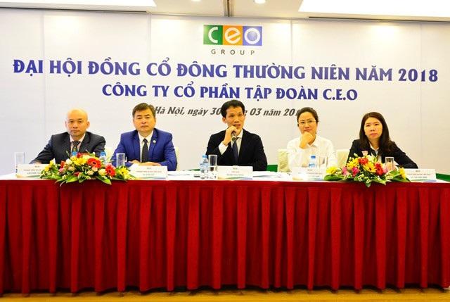 Đoàn Chủ tịch trả lời cổ đông tại ĐHĐCĐ thường niên năm 2018