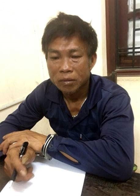 Nghi phạm Nguyễn Trung Chao khai báo tại cơ quan công an