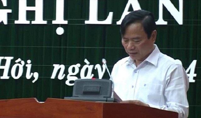 Ông Đinh Quý Nhân, Giám đốc Sở GD&ĐT Quảng Bình. (Ảnh: internet)