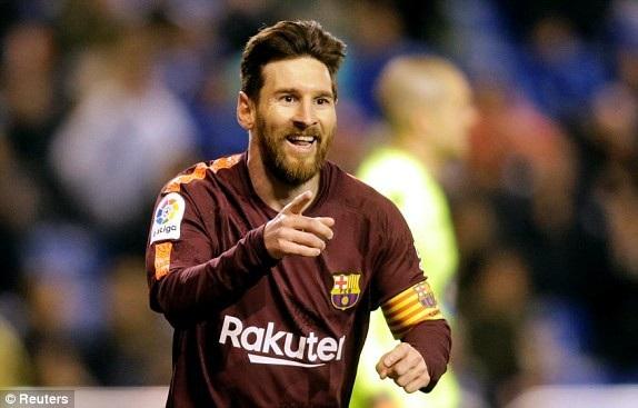 Messi lập kỷ lục ghi 30 bàn trở lên trong 7 mùa giải liên tiếp tại La Liga