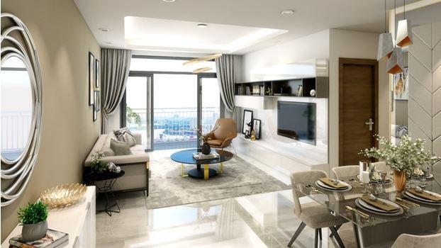 Các căn hộ được thiết kế thông thoáng và tầm nhìn hướng sông