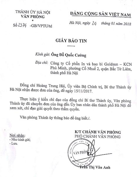 Gần 30 doanh nghiệp kêu cứu khẩn cấp, TP Hà Nội chỉ đạo nhiều cơ quan vào cuộc - 6