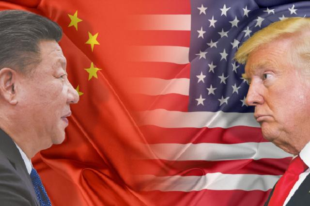 Ngay sau khi Trung Quốc tuyên bố áp thuế 3 tỷ USD lên hàng Mỹ, ông Trump đáp trả bằng số thuế 50 tỷ USD lên hàng Trung Quốc. (Nguồn: Sunday News)