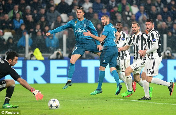 C.Ronaldo vẫn chơi đầy nổi bật trong vai trò nhạc trưởng hàng công của Real Madrid