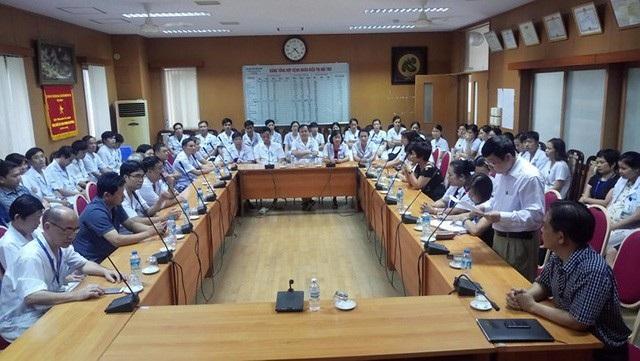 Hội đồng kỉ luật công bố quyết định cắt chức Giám đốc 1 năm đối với ông Trương Quý Dương, Giám đốc Bệnh viện Đa khoa tỉnh Hoà Bình