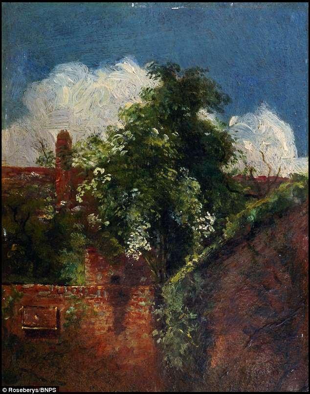 Bức tranh bị lãng quên này từng được thực hiện bởi danh họa người Anh - John Constable.