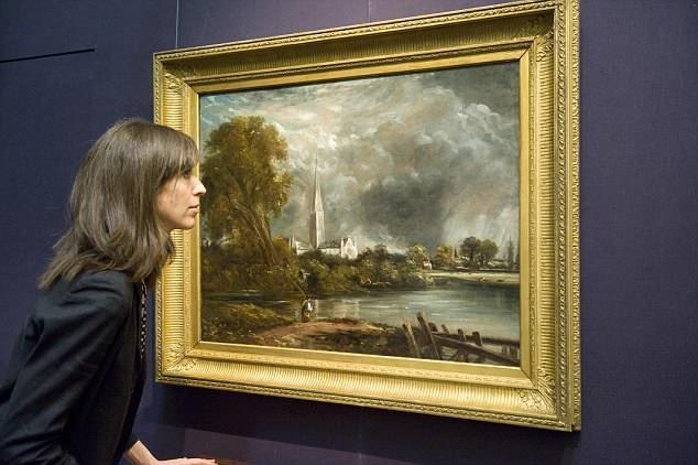 Một bức tranh của danh họa John Constable.