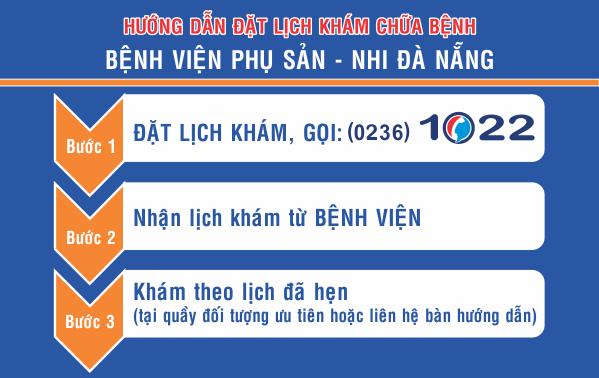 Người dân có thể đặt trước lịch khám, chữa bệnh tại các bệnh viện, trung tâm y tế quận, huyện bằng cách gọi đến Tổng đài dịch vụ công Đà Nẵng (0236 1022)