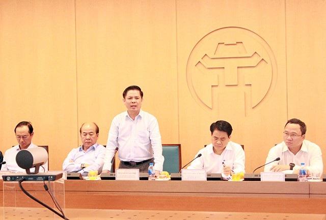 Ông Nguyễn Văn Thể - Bộ trưởng Bộ GTVT phát biểu tại hội nghị