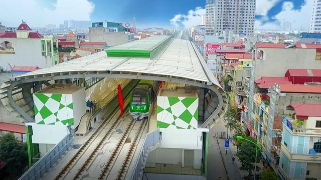 Tháng 12/2018, tuyến đường sắt Cát Linh - Hà Đông sẽ được vận hành thương mại
