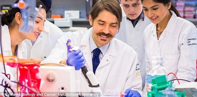 TS. Fabian Filipp cùng nhóm nghiên cứu đang tìm cách nhằm trúng vào khối u hắc tố ác tính tại Phòng thí nghiệm sinh học hệ thống và chuyển hóa ung thư, Đại học California, Merced.