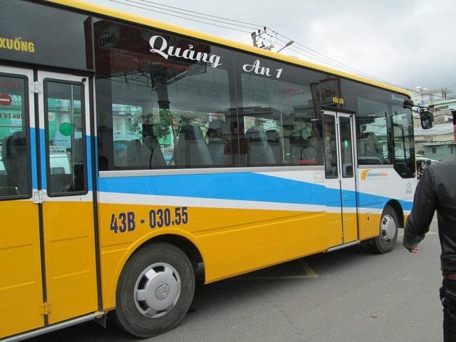 Một tài xế xe buýt của Công ty Quảng An 1 bị đình chỉ