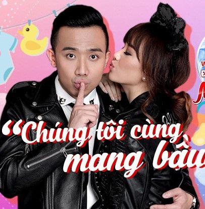 Và cặp đôi đầu tiên xác nhận tham gia chương trình là danh hài Trấn Thành và nữ ca sĩ Hari Won.