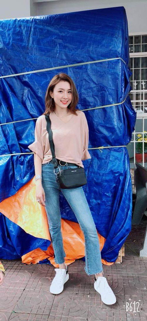 Cô gái Kiên Giang nhanh chóng nổi tiếng trên mạng xã hội.