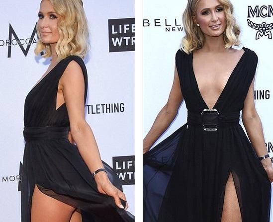 Paris Hilton trẻ trung hơn nhiều so với tuổi 37