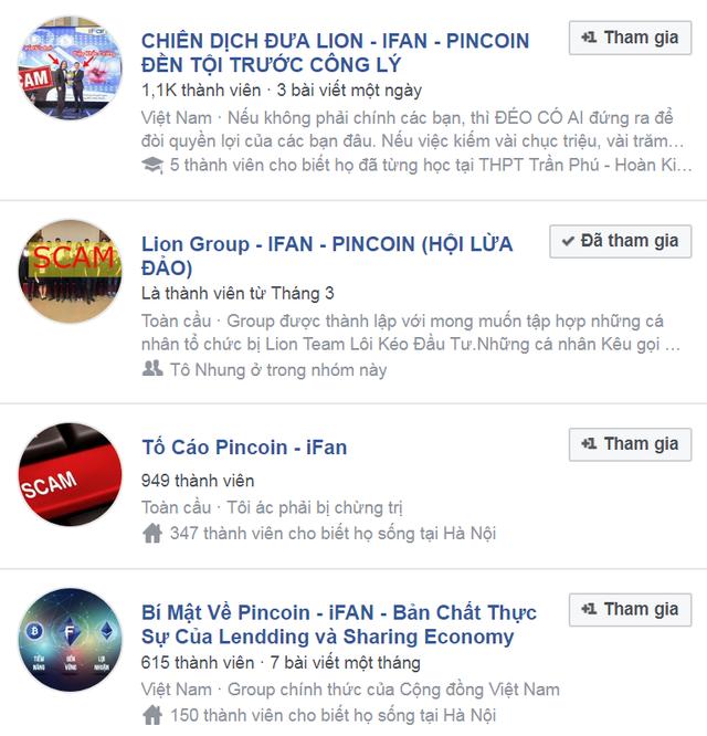 Hàng trăm, hàng ngàn người tham gia các hội nhóm trên Facebook để tố cáo hành vi lừa đảo, chiếm đoạt tài sản của Ifan.
