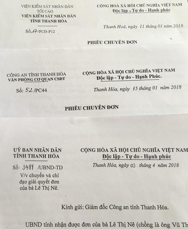 Gần 1 năm qua, gia đình anh Nam đã phải cầu cứu nhiều cơ quan, ban, ngành tỉnh Thanh Hóa nhưng vẫn chưa được giải quyết thỏa đáng