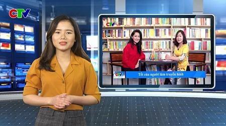 Sinh viên CĐTH trực tiếp tham gia sản xuất các số Truyền hình CTV