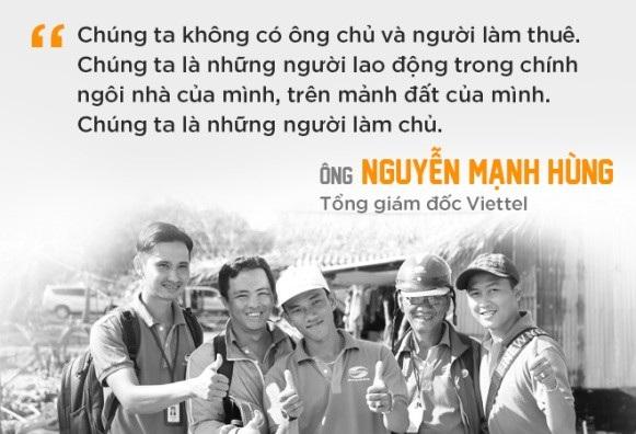 CEO Viettel: Nếu chọn lao động để hạnh phúc, chúng ta sẽ có cơ hội hạnh phúc mỗi ngày - 5