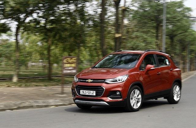 GM sẽ phải tạm dừng nhập khẩu mẫu Chevrolet Trax từ Hàn Quốc