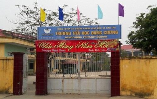 Bắt giam nguyên Hiệu trưởng trường Tiểu học Đặng Cương (ảnh internet)