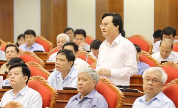 Bộ trưởng Bộ GD&ĐT Phùng Xuân Nhạ.