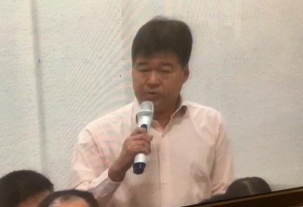 Ông Nguyễn Hoài Giang trong lần được triệu tập đến toà sau lời khai của bị cáo Thu về việc đã chi cho ông này nhiều tỉ đồng.